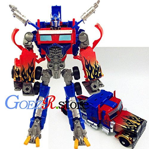 [Transformers Human Alliance Optimus Prime Action Figures Toy Gift 8.6 inch High] (Cabbage Head Costume)