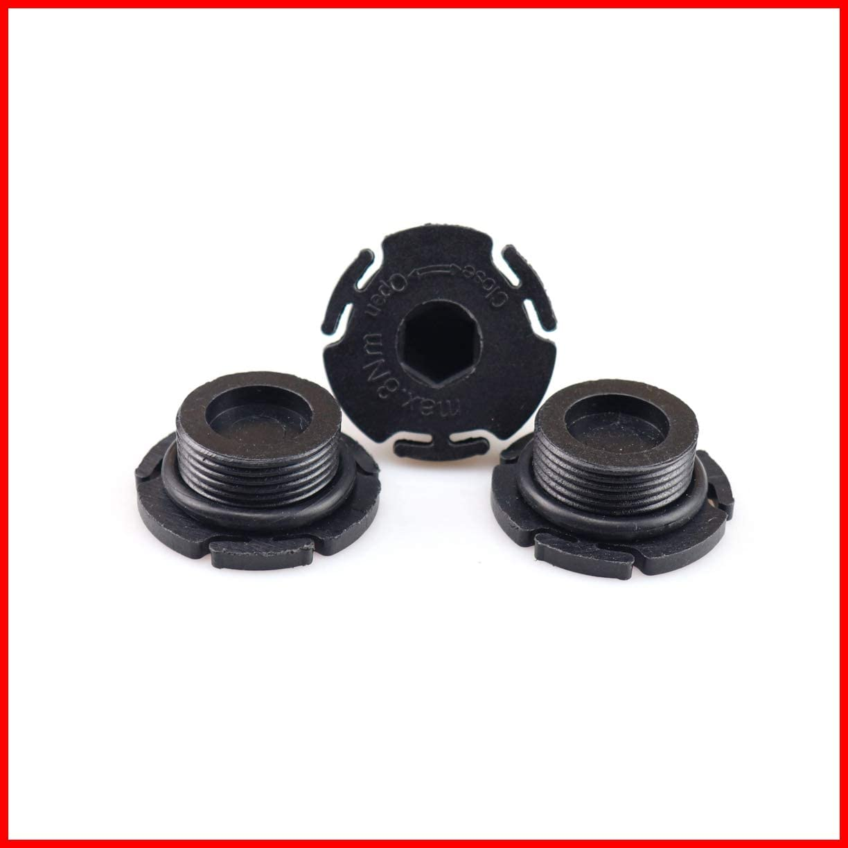 3PCS NEW Genuine Fits BMW E84 E89 F07N F10 F11 Engine Oil Drain Plugs OEM 11137605018//Engine Oil Pan Drain Plug With O-Ring X1 28i Z4 28i 528i 528i 228i 320i 328i 328i 428i 428i 328i 428i