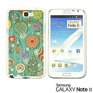 OnlineBestDigital - National Pattern Hardback Case for Samsung Galaxy Note 2 - Cute Earrings Illustration