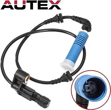 AUTEX 2PCS ABS Wheel Speed Sensor Rear Left /& Right ALS438 compatible with BMW 320i 2002-2004 2.2L//BMW 325Ci 2001-2006 2.5L//BMW 325i 02-05 2.5L//BMW 330Ci 01-06 3.0L Auto Trans//BMW 330i 01-05 3.0L