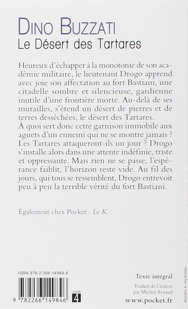 Amazon Com Le Desert Des Tartares Roman Contemporain French Edition 9782266149846 Buzzati Dino Arnaud Michel Books