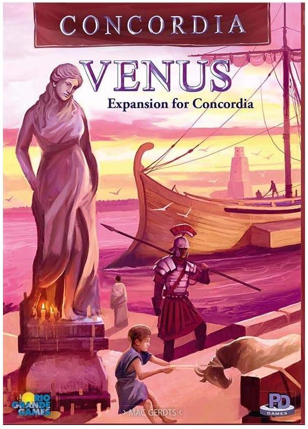 Rio Grande Games Concordia Venus Expansion: Amazon.es: Juguetes y juegos