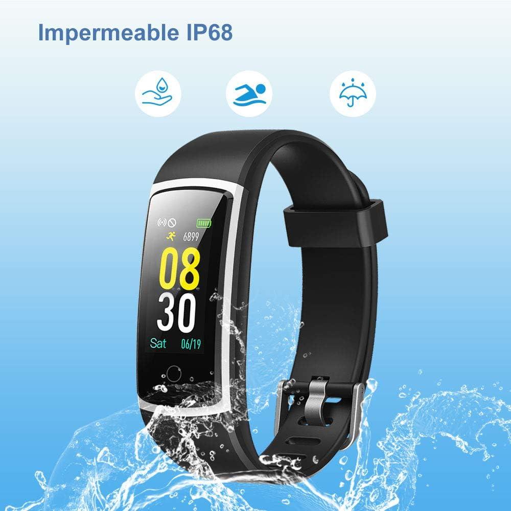 YAMAY Pulsera de Actividad Inteligente Impermeable IP68 con 14 ...