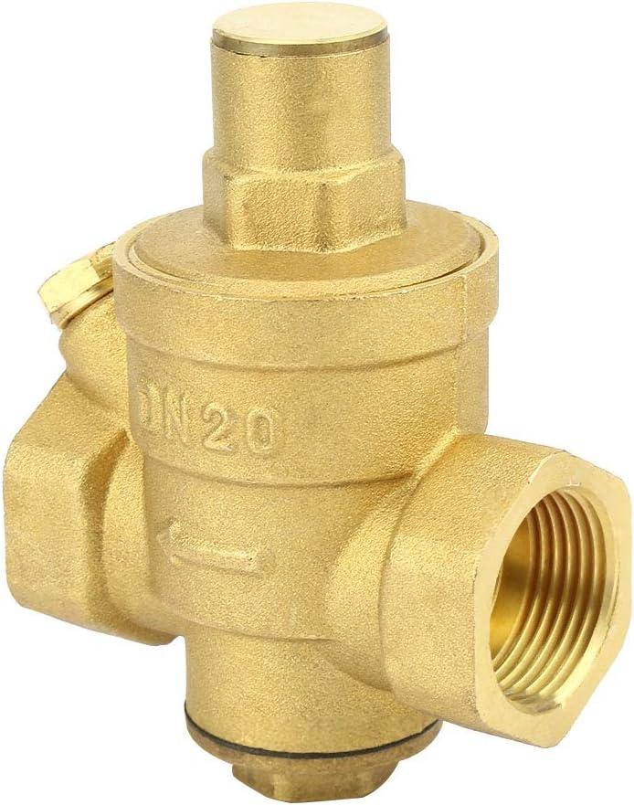 Neufday Regulating Valve Adjustable Brass Water Pressure Regulator DN20