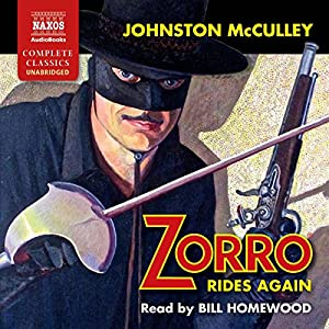 Zorro Rides Again Audiobook