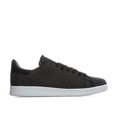 check out 4f7a1 8e822 Adidas Stan Smith, Chaussures de Sport Mixte Adulte - Noir - Noir (Negbas