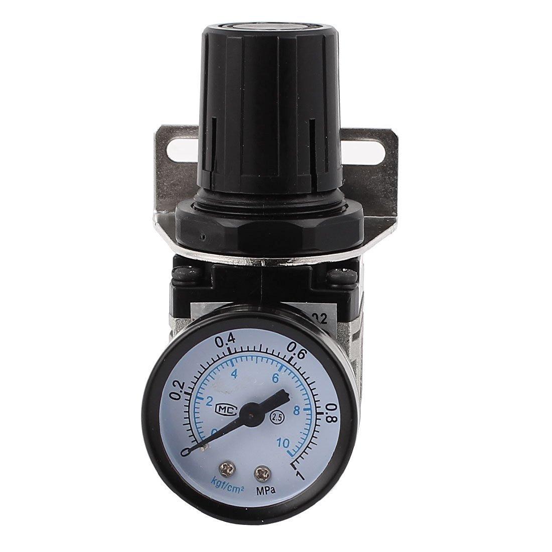 Baomain Air Source Treatment AR2000-02 w 0-1MPa 2.5 Accuracy Pressure Gauge