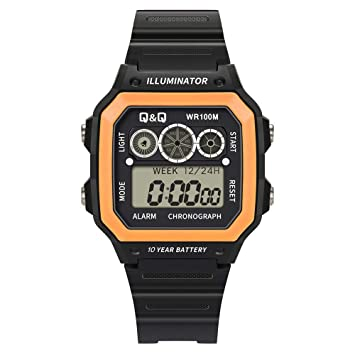 Amazon.com: Guartz Relojes para Hombres Digital Menor 10 ...