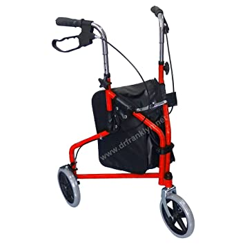Amazon.com: 3 Ruedas Rollator Walker para personas mayores ...