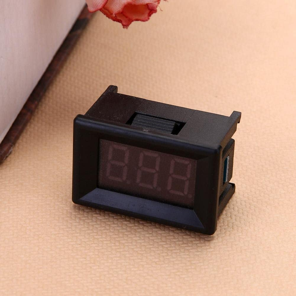 Mini 0.36in DC 2.4V-30V 2-Wire LED Digital Display Panel Battery Voltmeter