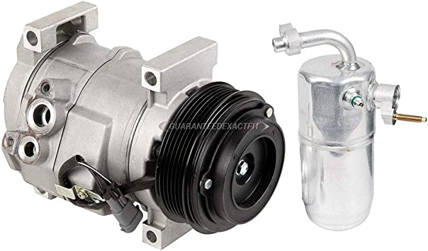 Amazon Com Ac Compressor W A C Drier For Chevy Silverado Gmc Sierra 6 6l Duramax Diesel 2004 2005 2006 2007 Buyautoparts 60 86591r2 New Automotive