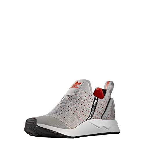 cc0702f9a adidas Mens Originals Mens ZX Flux ADV Asymmetrical Prime Knit Trainers in  Grey - UK 8