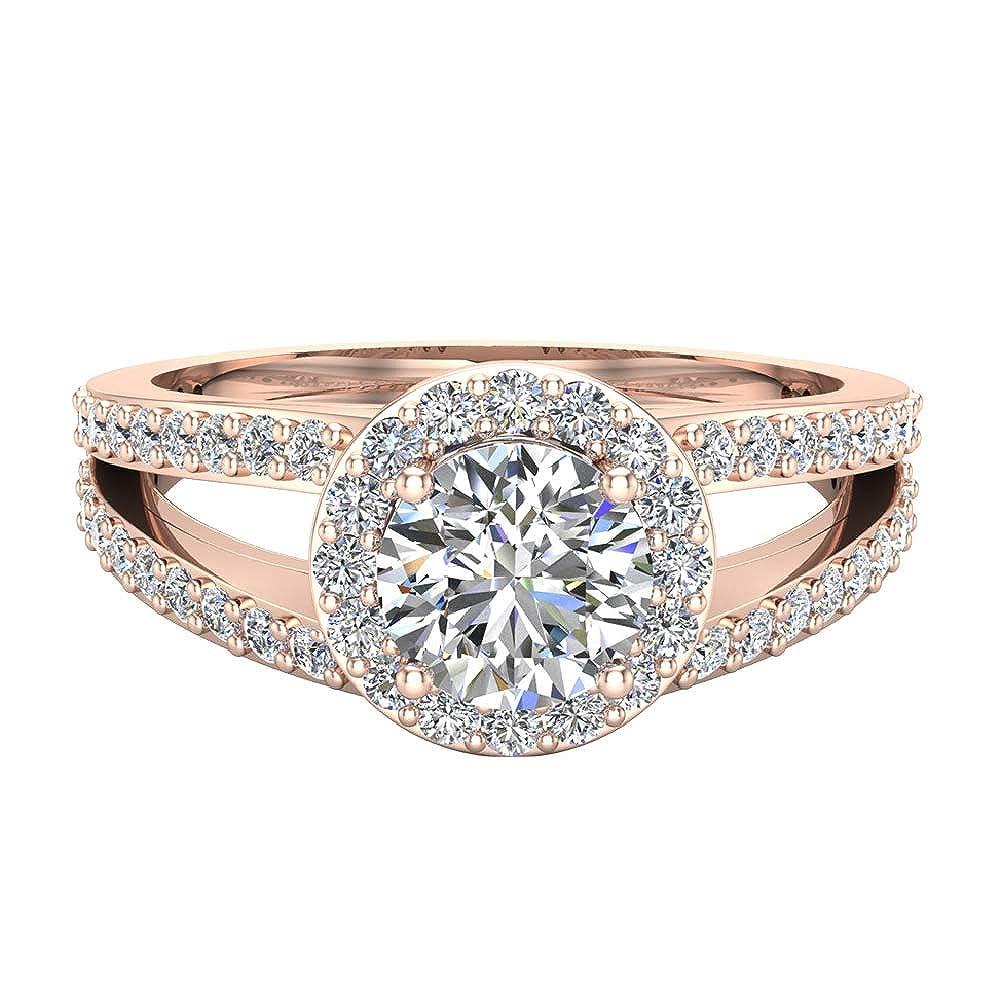 Amazon.com: Anillos de compromiso para mujer de diamante ...