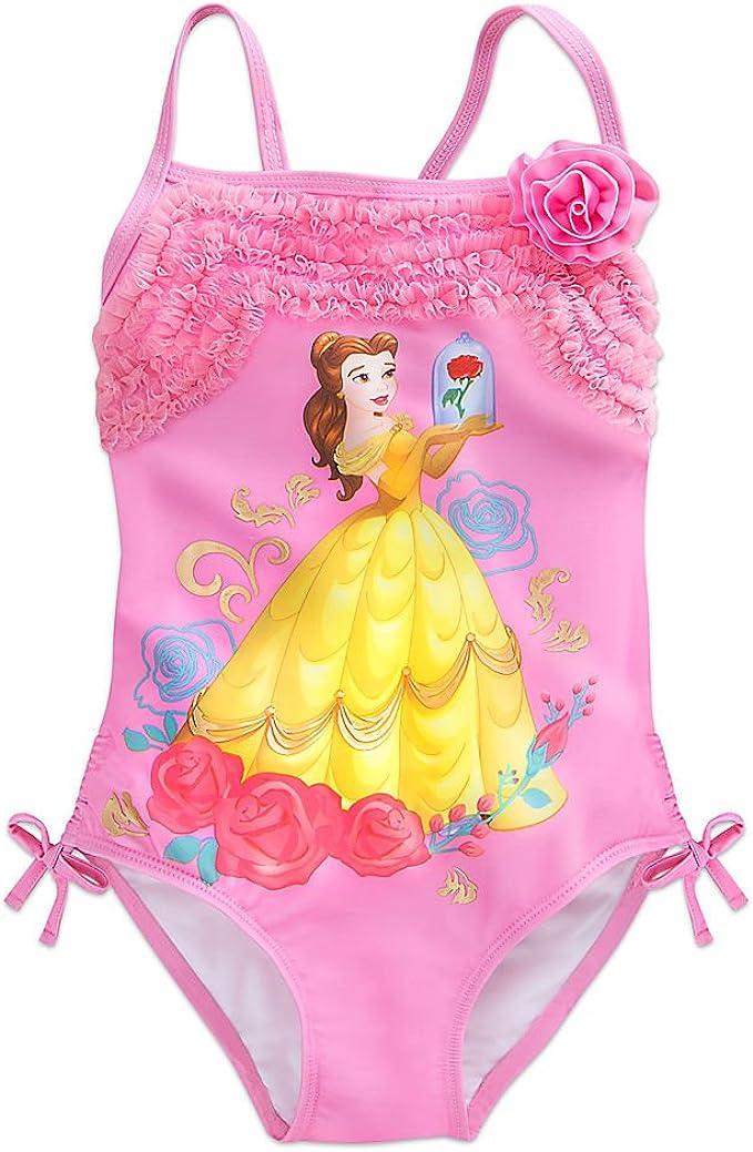Girls Beauty and the Beast SwimsuitDisney Princess Belle Swimming Costume