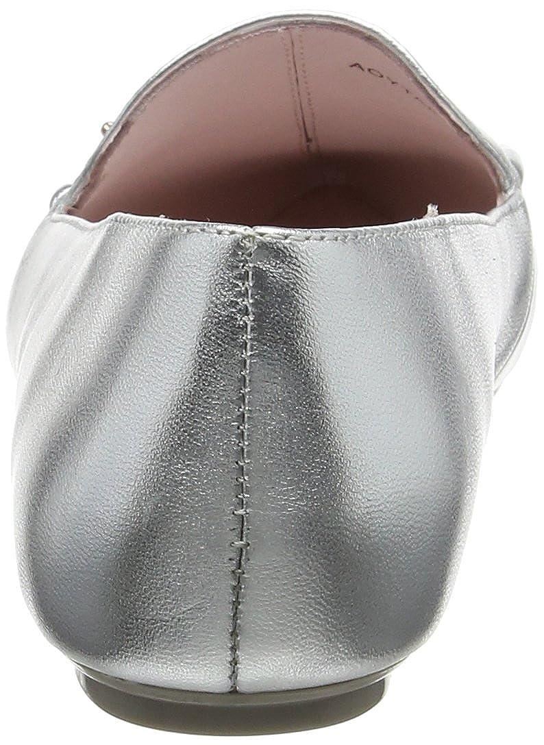 Ted Baker Damen Slipper Damenschuhe Shlim Loafers Slipper Damen Silber (Silver) ead190