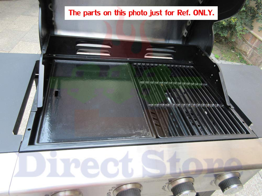 Direct store Parts Kit DG166 Replacement Charbroil Commercial Gas Grill 463268606,463268007 Repair Kit (SS Burner + SS carry-over tubes + Porcelain Steel Heat Plate + Porcelain Cast Iron Cooking Grid) by Direct store (Image #5)