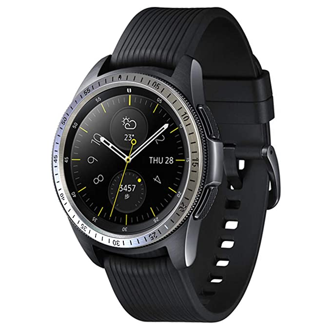 SMILEQ Para Samsung Galaxy Watch 42MM Bezel Ring Adhesive Cover ...
