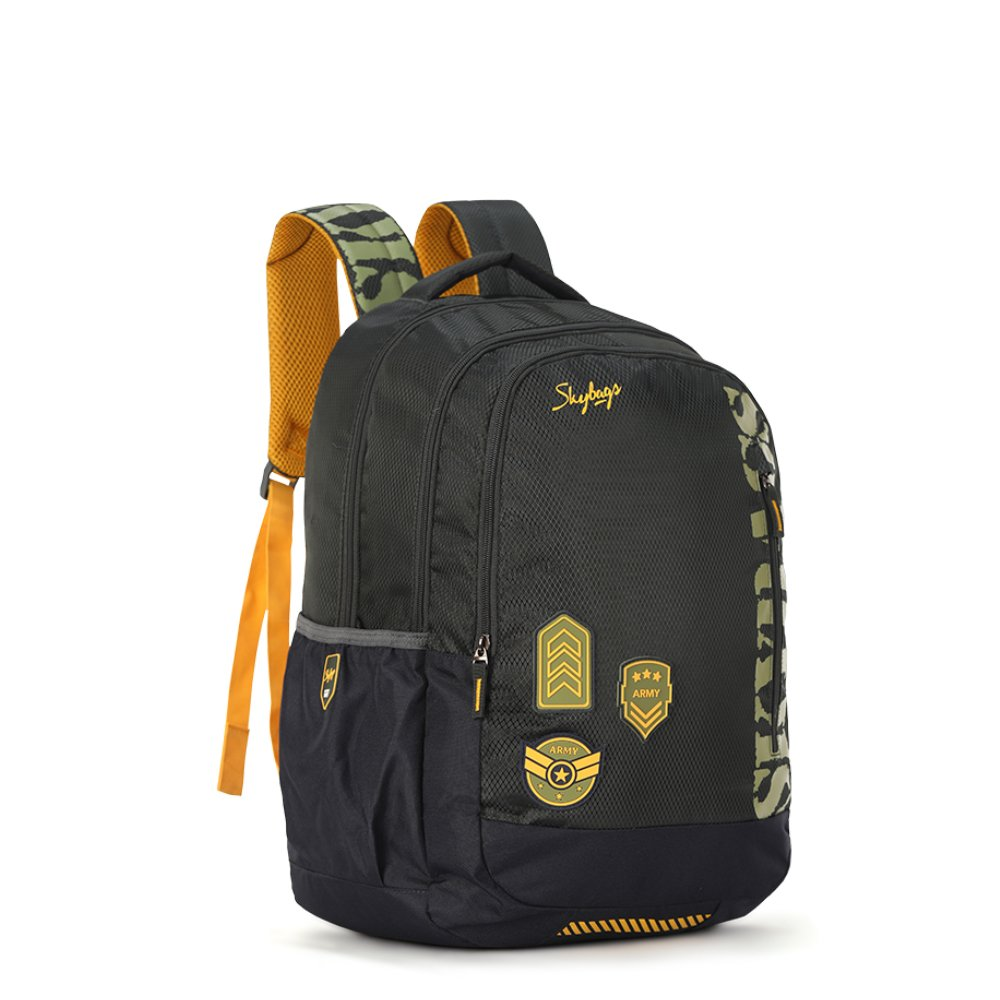 fac5d0a531 Skybags Bingo Extra 35.5005 Ltrs Green School Backpack (SBBIE01GRN)   Amazon.in  Bags