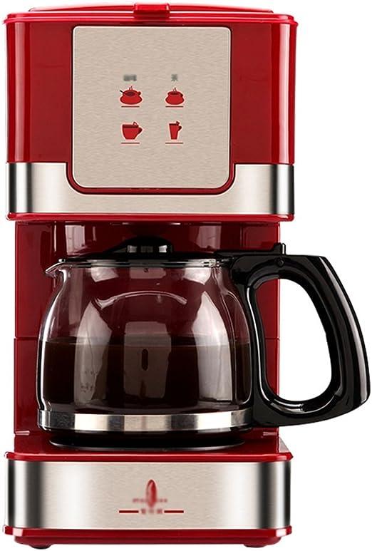IYAN-COFFEE Mini Cafetera De Goteo Pequeña For El Hogar Completamente Automática, Capacidad For 6 Tazas Y Cafetera De Almacenamiento Interno: Amazon.es: Hogar