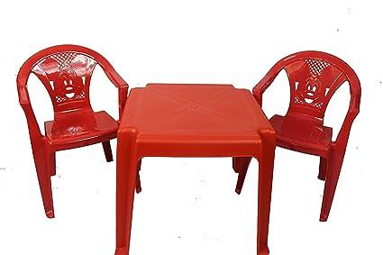 Tavolo E Sedie Per Bambini Da Esterno.Toyo Plastica Resistente Bambini Gioco Del Set Tavolo E 2