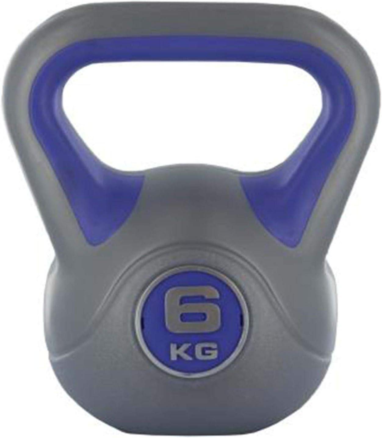 Live Up Sports Kettlebell Pesi Fitness in PLASTICA Manubrio Esercizi CASA ATTREZZO Ginnico.