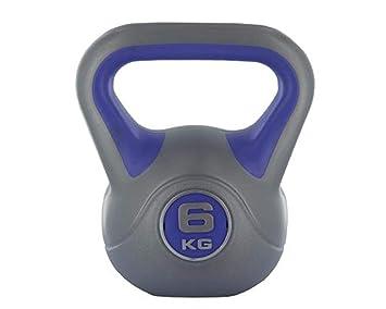 Vinilo manillar / Kettlebell muscular entrenamiento fitness 6 kg tono Cuerpo gym: Amazon.es: Deportes y aire libre