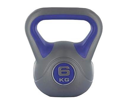 Vinilo manillar / Kettlebell muscular entrenamiento fitness 2 kg tono Cuerpo gym: Amazon.es: Deportes y aire libre
