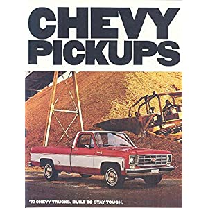1977 Chevrolet Pickup Truck Brochure