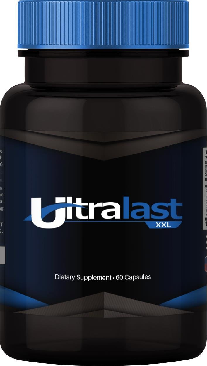 Ultra Last XXL - Natural Male Enhancement - Enjoy renewed drive, longevity, intensity and endurance - 3 bottles / 60 capsules