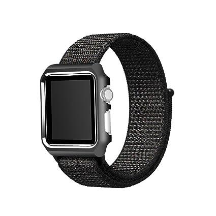 6220e2bcf0d04 Amazon.com : FitTurn Replacement Apple Watch Band Women Men, Woven ...