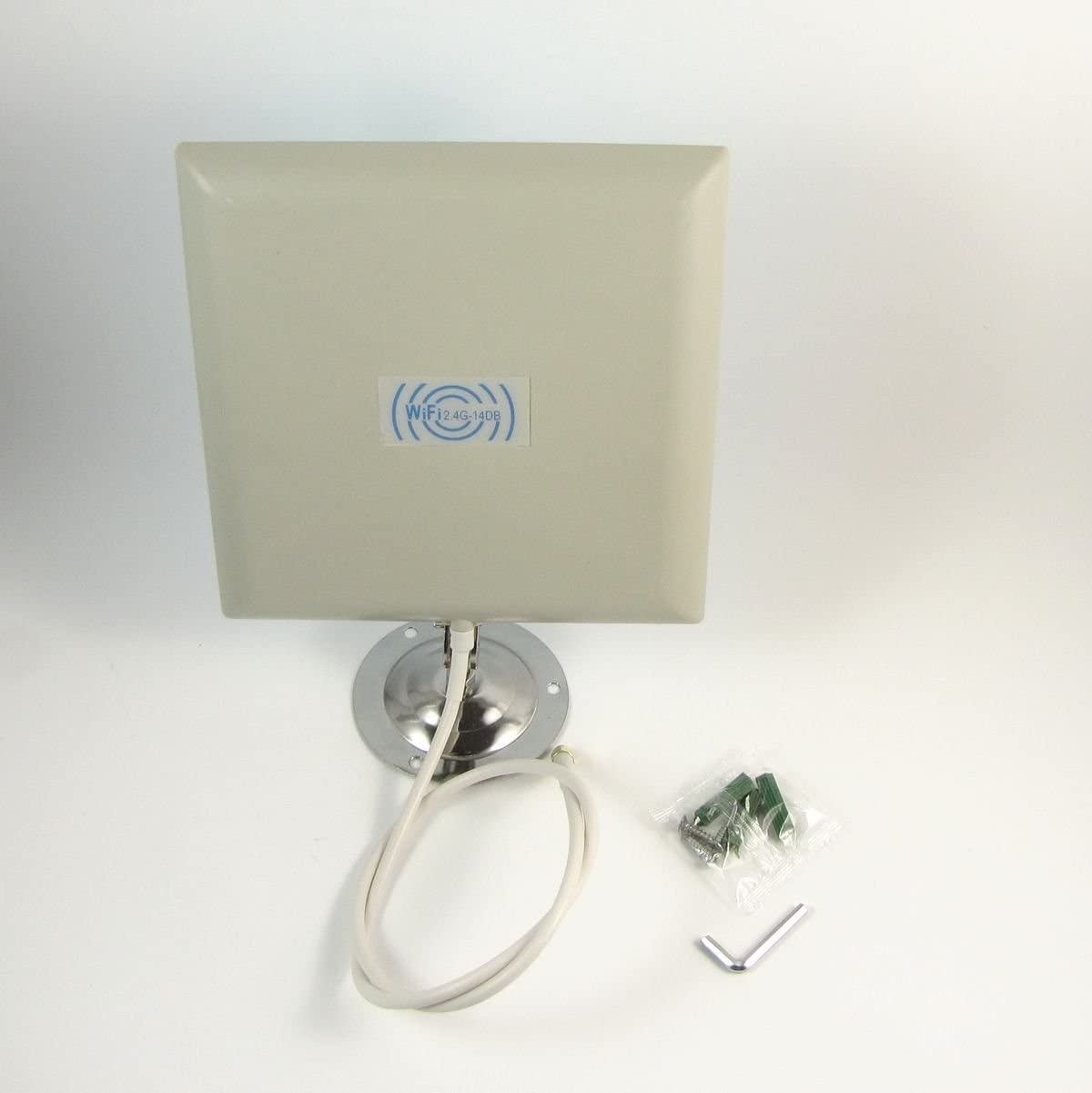 2.4GHz 14dbi direccional antena plana WiFi del router inalámbrico al aire libre de interior
