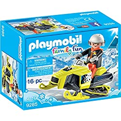 PLAYMOBIL Snowmobile Building Set