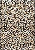 Well Woven Dulcet Leopard Black Ivory Animal Print Area Rug 2' X 7'3'' Runner
