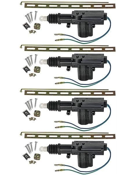 2 Heavy Duty Power Door Lock Actuator Motor 12-volt For Car Door Locks Pair