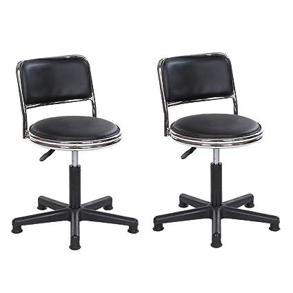 Swell Amazon Com Xsda Hairdressing Stool Beauty Chair Nail Lamtechconsult Wood Chair Design Ideas Lamtechconsultcom
