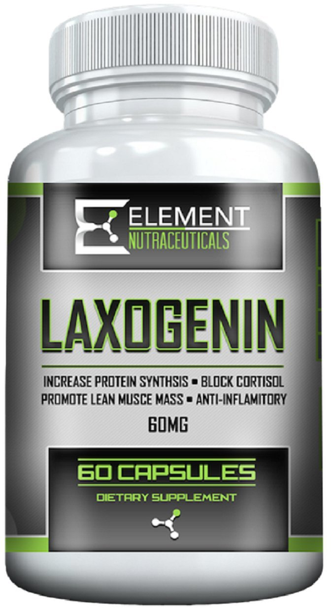 LAXOGENIN (60 mg) by Element Nutraceuticals by Element Nutraceuticals