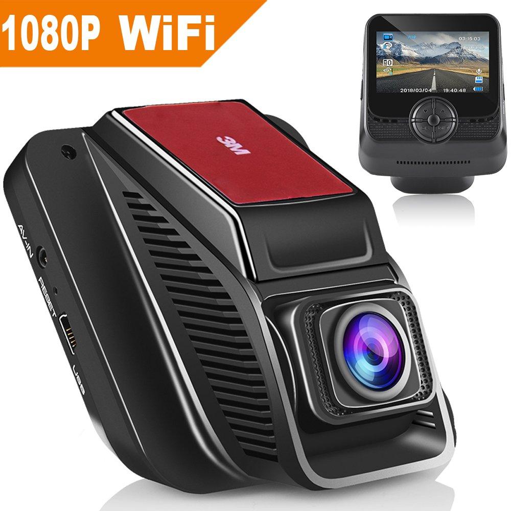 Modohe Dash Cam guida video registratore videocamera Full-HD 170 grandangolare da 6, 2 cm TFT LCD di ricarica USB veicolo video camera loop 2cm TFT LCD di ricarica USB veicolo video camera loop