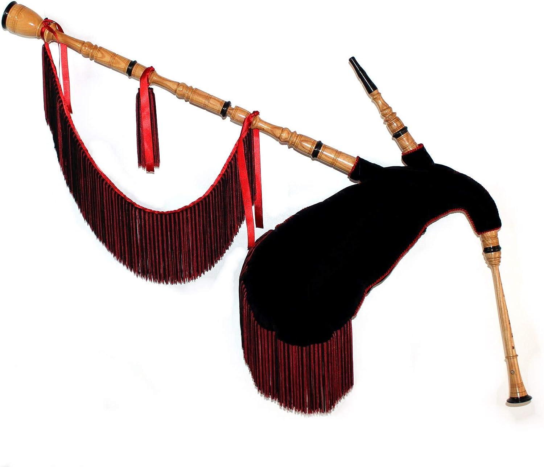 Gaita gallega profesional en tonalidad Do, madera de fresno, sin ronquillo con fuelle sintético de goretex.: Amazon.es: Instrumentos musicales