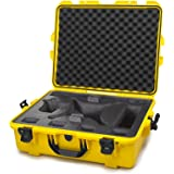 Nanuk DJI Drone Waterproof Hard Case with Custom Foam Insert for DJI Phantom 4/ Phantom 4 Pro (Pro+) / Advanced (Advanced+) & Phantom 3 - 945-DJI44 Yellow