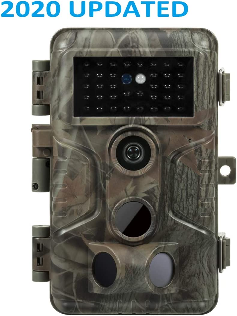 Meidase Trail Game Cameras 20MP HD 1080P H.264, Fast 0.1s Trigger Time, 0.5s Recovery Time, 82ft Motion Detecting, 100ft Night Vision, Waterproof Cams for Outdoor Wildlife Deer Hunting