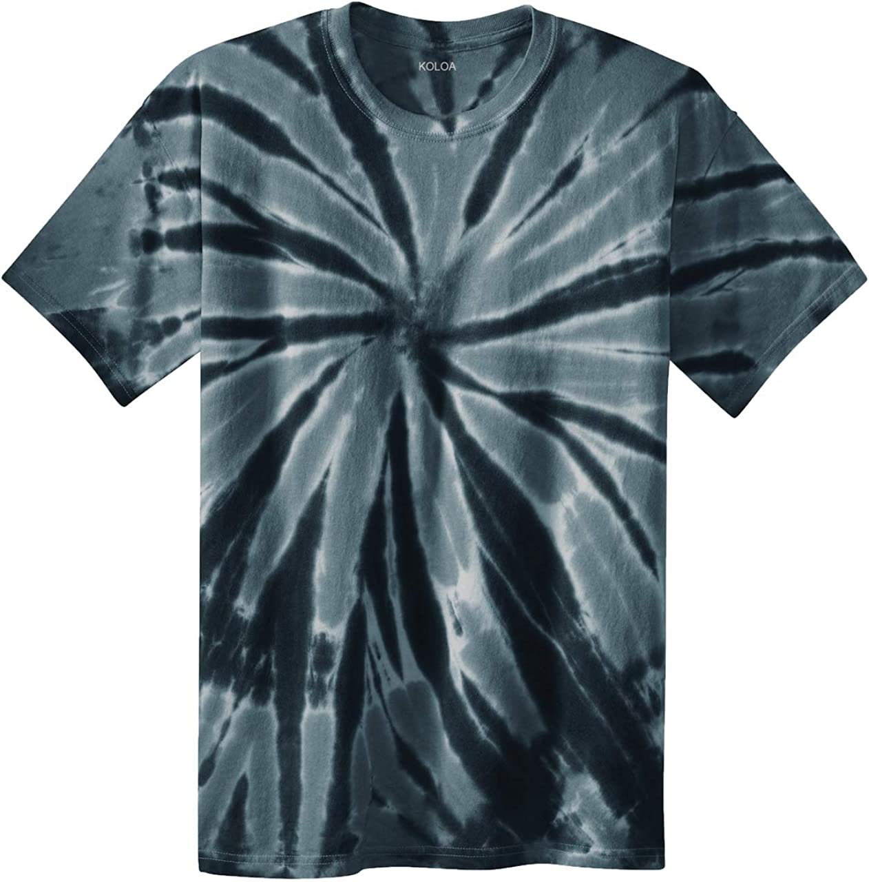 Sizes Joes USA Koloa Surf Co Colorful Tie-Dye T-Shirts in 17 Colors S-4XL