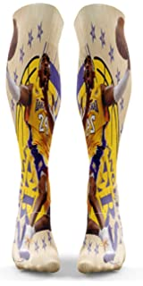 00f3430bc060 Amazon.com  Kobe Bryant Los Angeles Lakers Stance Men s Mamba 24 ...