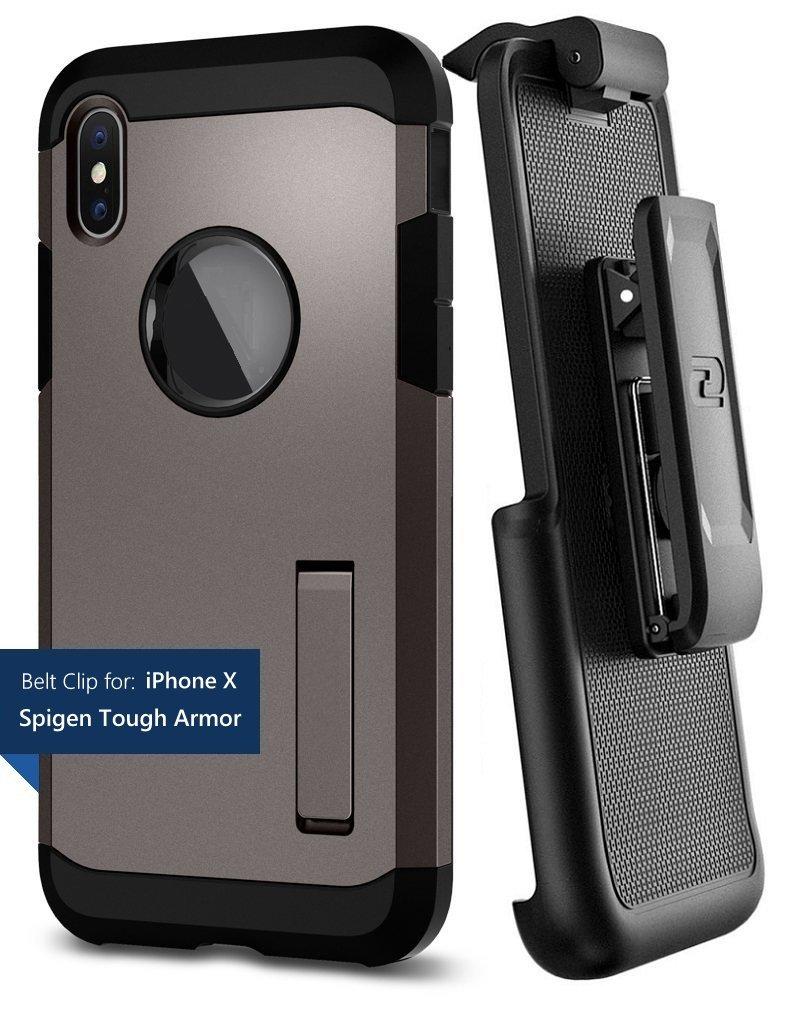 Encased Belt Clip Holster for Spigen Tough Armor Case - Apple iPhone X/iPhone Xs (case not Included)