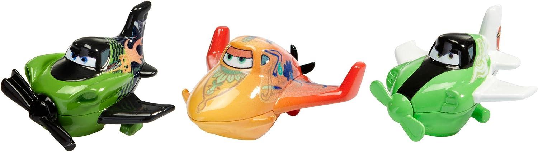Disney Pixar Cars PLANES MICRO DRIFTERS RACING DUSTY Bundle TOKYO DRIFT MATER