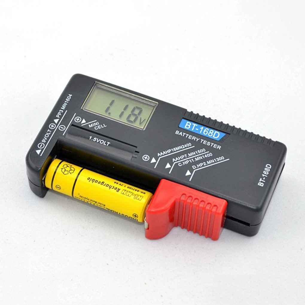 Aiming BT168D Digital LCD Batterietester Volt Checker fü r 9V AA AAA-Knopf-Batterie