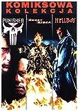 Marvel Kolekcja Komiksowa: Ghost Rider/ Hellboy/ Punisher BOX [3DVD] (English audio. English subtitles)