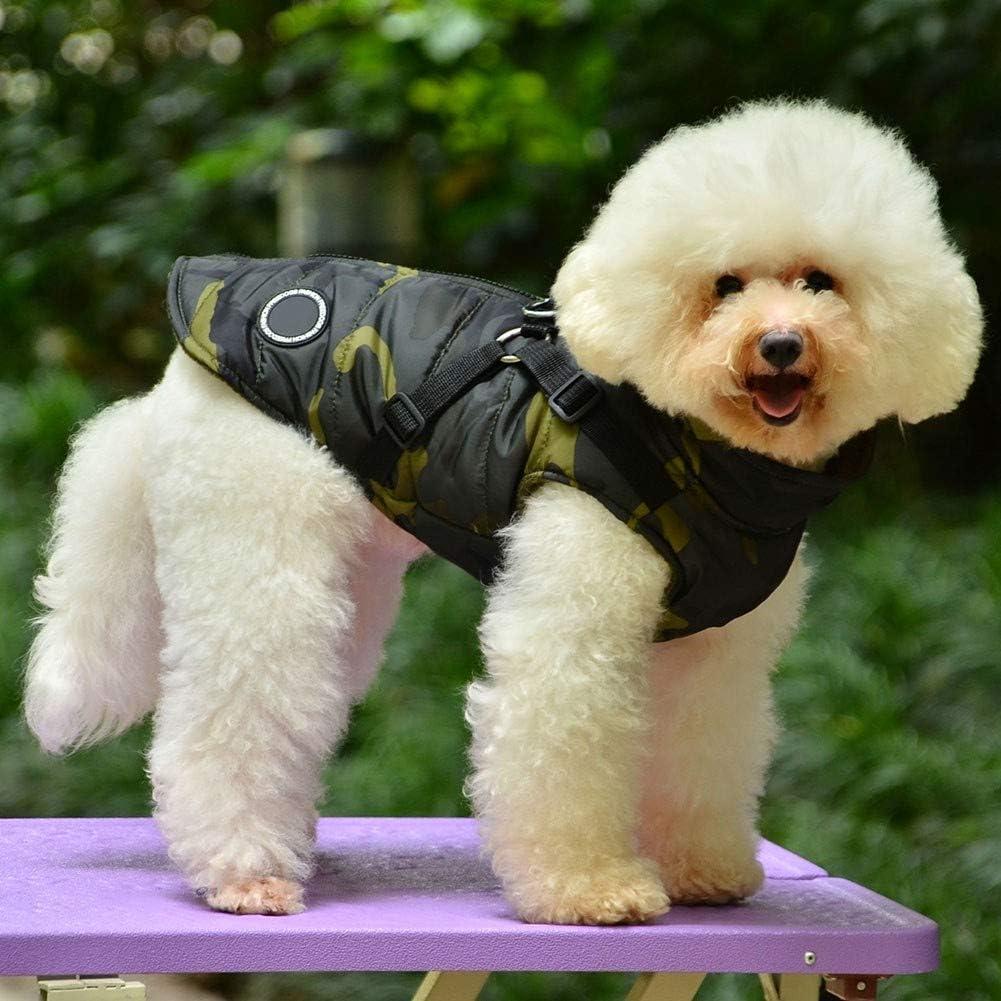 Handfly Hundebekleidung f/ür Kleine Hunde Hundemantel Wasserdichte Winterjacke Warm Weste Hundekleidung Hundemantel Hundejacke Hundepullover Warm Winter f/ür Kleine Hunde
