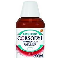 Corsodyl Gum Problem Treatment Mouthwash, 600 ml, Mint