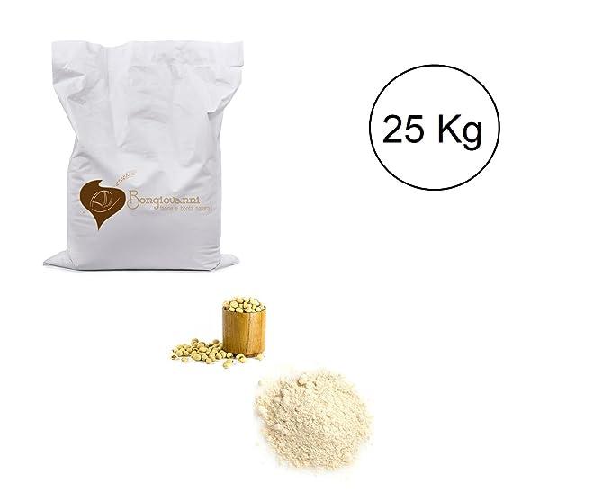 Harina de soja tostada gluten Degrassata 25 kg