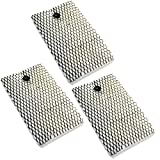 HQRP 3-Pack Filter for Bionaire BCM645, BCM646, BCM646C, BCM646BF, BCM655, BCM657, BCM658, BCM658C, BCM658SC Humidifier + HQRP Coaster